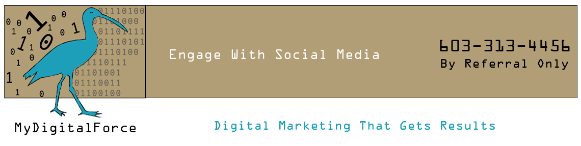 MyDigitalForce will help you engage with your customers through social media